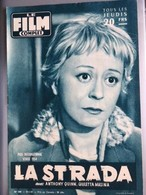 Mon Le Film Complet La Strada Anthony Quinn Giuletta Masina 4eme De Couverture Amedeo Nazzari - Journaux - Quotidiens