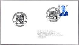 13º Centenario De SAINT BERTUIN (BERTHUIN) DE MALONNE. Malonne 1998 - Cristianismo