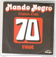 "Disque 45 Tours 2 Titres ""Mando Negro"" - 45 T - Maxi-Single"