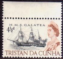 TRISTAN DA CUNHA 1965 SG #76 4½d MNH - Tristan Da Cunha