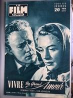 Mon Le Film Complet Vivre Un Grand Amour Deborah Kerr Van Johnson  4eme De Couverture Françoise Arnoul - Zeitungen