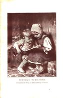 ABC-Schuetzen (von Hermann Kaulbach) / Druck, Entnommen Aus Kalender / 1910 - Books, Magazines, Comics