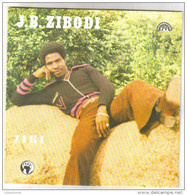 "Disque 45 Tours 2 Titres ""J.B. Zibodi"" - 45 T - Maxi-Single"