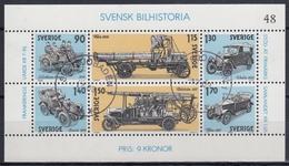 SUECIA 1980 Nº HB-8 USADO - Blocks & Sheetlets