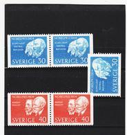 AUA807 SCHWEDEN 1964 Michl 529/39 FEHLT 530 A ** Postfrisch ZÄHNUNG SIEHE ABBILDUNG - Schweden