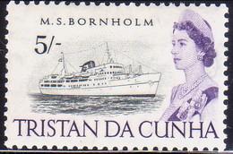 TRISTAN DA CUNHA 1965 SG #83 5sh MH - Tristan Da Cunha