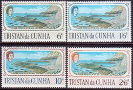 TRISTAN DA CUNHA 1967 SG #104-07 Compl.set MH Calshot Harbour - Tristan Da Cunha