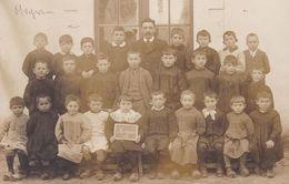 CPA – GIRONDE – MEYRAN – Carte Photo  Ecole De Meyran 1915 - France