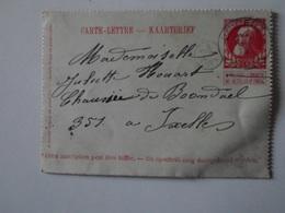 BELGIQUE   Lincent  Carte-Lettre - Lincent