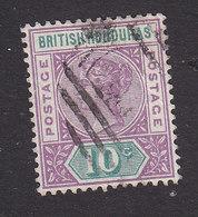 British Honduras, Scott #43, Used, Victoria, Issued 1891 - British Honduras (...-1970)