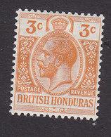 British Honduras, Scott #77, Mint Hinged, King George V, Issued 1913 - British Honduras (...-1970)