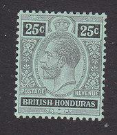 British Honduras, Scott #80a, Mint Hinged, King George V, Issued 1913 - British Honduras (...-1970)