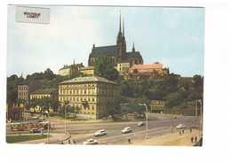 Republique Tcheque Tchequie Brno Petrov Tram Tramway + Timbre - Repubblica Ceca