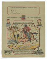 JM19.04 / PROTEGE- CAHIERS -  DEPARTEMENT DE LA HAUTE- GARONNE /  BATAILLE DE TOULOUSE - Book Covers