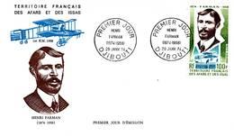 Afars Et Issas, 1974, Farman, PA 97. FDC 29 Janvier 1974 Djibouti - Stamps