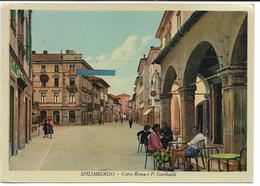 CPSM - SPILIMBERGO - Corso Roma E P Garibaldi - Other Cities