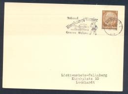 Germany (Deutsches Reich) 1937 Card: Wrestilng; Lutte, Ringen; International Ringkampf Turnier Hannover - Lutte