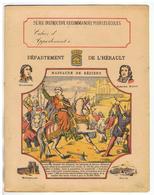 JM19.04 / PROTEGE- CAHIERS -  DEPARTEMENT DE L' HERAULT  /  MASSACRE DE BEZIERS - Book Covers