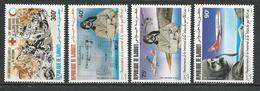 DJIBOUTI Scott C203, C2014-C206 Yvert PA207, PA208-PA210 (4) ** Cote 9,50 $ 1984 - Djibouti (1977-...)