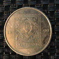INHULDIGINGSZEGEL 20 Cent 1999 Koningin Juliana - Royaux/De Noblesse