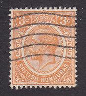 British Honduras, Scott #95, Used, King George V, Issued 1922 - Honduras Britannique (...-1970)