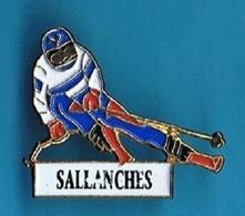 PIN'S //  ** SALLANCHES / SKI DESCENTE ** - Winter Sports