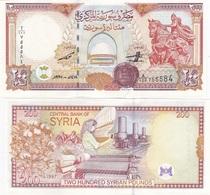Syria - 200 Pounds 1997 UNC Lemberg-Zp - Syrie