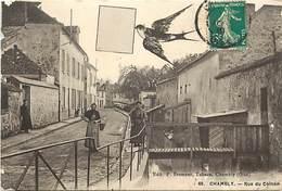 -dpts Div.-ref-YY933- Oise - Chambly - Rue Du Coinon - Hirondelle Messagere Et Lettre  - Femmes - Etat - - Estrees Saint Denis