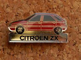 Pin's -  VOITURE - CITROEN ZX - Badges