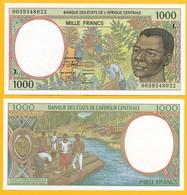 Central African States 1000 Francs Gabon (L) P-402Lg 2000 UNC - Central African States