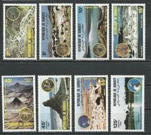 DJIBOUTI Scott 573-580 Yvert 579-586 (8) ** Cote 7,00 $ 1984 - Djibouti (1977-...)