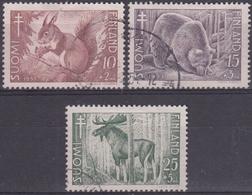 FINLANDIA 1953 Nº 401/03 USADO - Finlandia