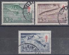 FINLANDIA 1955 Nº 426/28 USADO - Finlandia