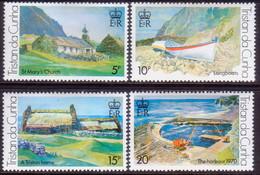 TRISTAN DA CUNHA 1978 SG #234-37 Compl.set MLH Paintings By Roland Svensson (2nd Series) - Tristan Da Cunha