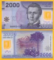 Chile 2000 Pesos P-162c 2013 UNC - Chile