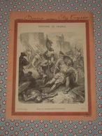 Couverture Illustrée D'ancien Cahier D'écolier - Mort Du Connétable De Bourbon - Histoire De France Fin 19e - Blotters