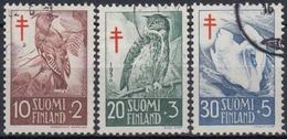 FINLANDIA 1956 Nº 441/43 USADO - Finlandia