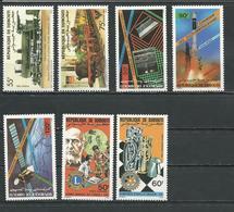 DJIBOUTI Scott 597-598, C215-C217, C211-C212 Yvert 603-604, PA219-PA221, PA215-PA216 (7) ** Cote 12,00 $ 1985 - Djibouti (1977-...)