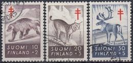 FINLANDIA 1957 Nº 458/60 USADO - Finlandia