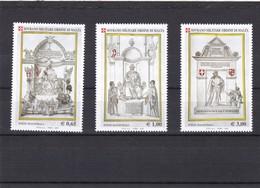 Orden De Malta Nº 811 Al 813 - Malta (la Orden De)