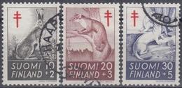 FINLANDIA 1962 Nº 527/29 USADO - Finlandia