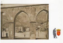 """Sulmona (AQ) -  Piazza Maggiore, Veduta Dai """" Tre Archi """" - - L'Aquila"""