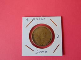 1 Dolar 2000-d - EDICIONES FEDERALES