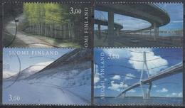 FINLANDIA 1999 Nº 1435/38 USADO - Finlandia
