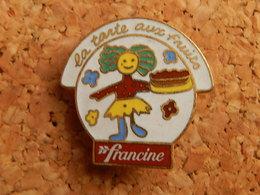 Pin's -  FRANCINE - Food