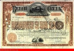 Beech Creek Railroad Company - Railway & Tramway