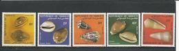 DJIBOUTI Scott 603-607 Yvert 609-613 (5) ** Cote 5,20 $ 1985 - Djibouti (1977-...)