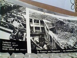 NAM DINH VIETNAM FABBRICA TEXILE  BOMBARDATA DA AMERICANI DITTA  OPERAIA LAVORO Pro Rinascita N1970  GR1021  21 X 8,5 - Vietnam