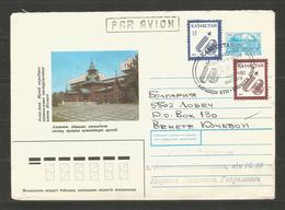 KAZAJSTAN - INTERESTING  Letter Traveled To BULGARIA - See Scaners - D 1637 - Kazakhstan