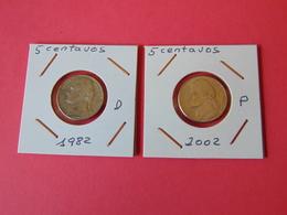 5 Centavos 1982-d 2002-p - EDICIONES FEDERALES